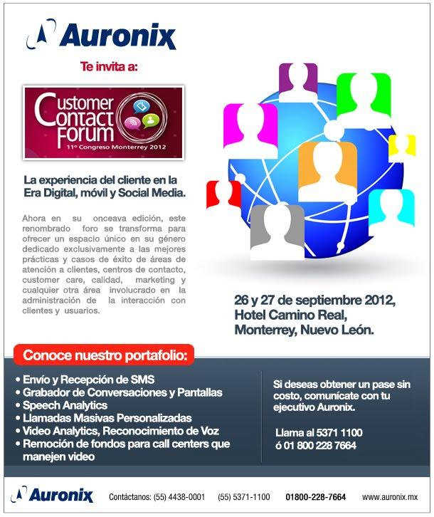 Contact Forum Monterrey
