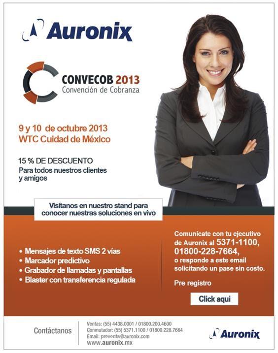 Invitación a Convecob 2013
